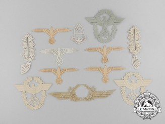 Thirteen SS Eagle Insignia Templates