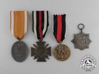 Four German Medals and Awards