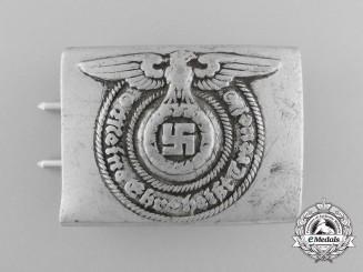 An SS EM/NCO's Belt Buckle by Koppelschloss für Mannschaften/Unterführer