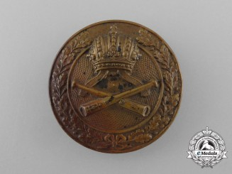 Austria, Imperial. An Artillery Badge, c.1916