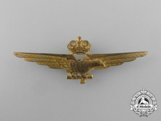 A Second War Italian Fascist Pilot's Wings