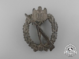 An Infantry Assault Badge; Bronze Grade by Richard Sieper & Söhne