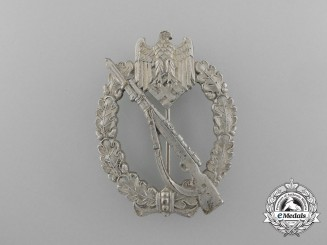 An Infantry Assault Badge; Silver Grade