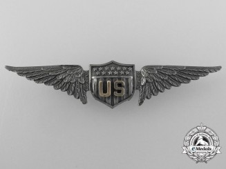 A Fine Set of United States Army Air Service Aviator Pilot Wings