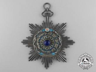 A Chinese Republic Order of the Double Dragon; Third Class & Grade (1900-1912)