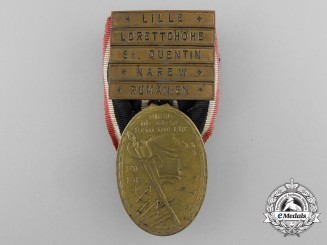 "A German Imperial War Veteran Organization ""Kyffhauser"" Medal with 5 Claps"