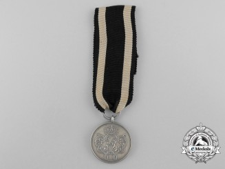 A Prussian Military Merit Honour Decoration; 2nd Class Medal 1888-1918