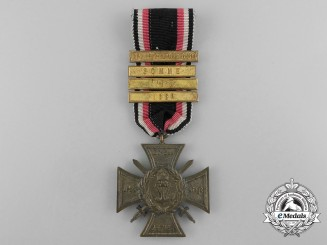 A German Imperial Naval Corps Flanders Cross