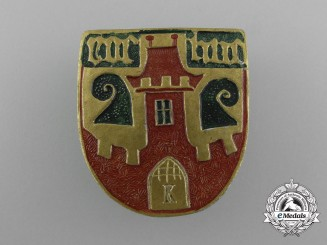 "An Unattributed 1938 ""Homefest"" Badge"