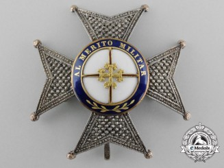 Spain, Kingdom. A Royal Military Order of St. Ferdinand, Officer's Star, c.1880