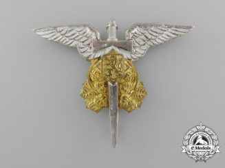 Czechoslovakia, Republic. An Army Observer Air Force in Great Britain Badge, c.1945