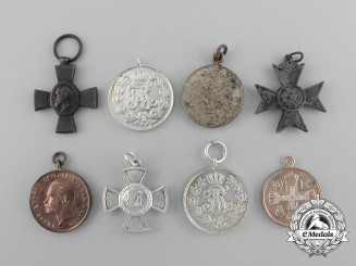 Eight Miniature German Imperial Medals & Awards