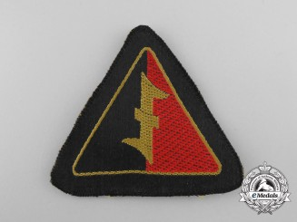 A Mint Second War Dutch NSB EM Sleeve Insignia