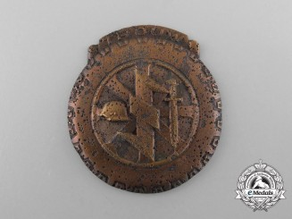 A Dutch NSB/NSKK Volunteer's Eastern Front Honour Badge