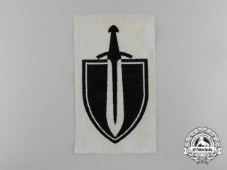 A 1930's First Pattern Army Sports Vest Emblem