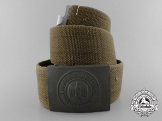 A Third Reich Heer Enlisted Man's Belt with Buckle