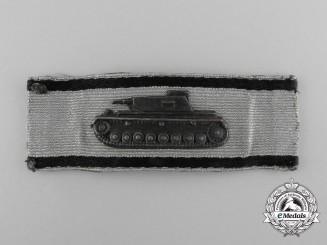 Germany, Heer. A Single-Handed Tank Destruction Badge, Silver Grade
