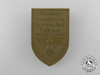 Germany A 1936 RDB Federation of German Civil Servants Rally in Kassel-Kurhessen Badge