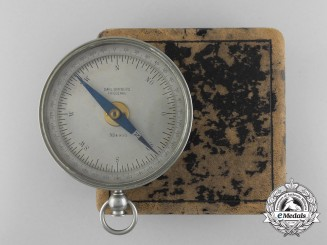 An Rare Imperial German Navy (Kaiserliche Marine) Compass by Carl Bamberg Friedenau