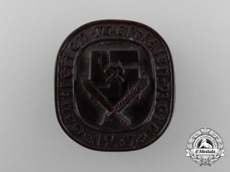 A 1937 Westfalen North District Meeting Badge