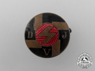 A (DJV) Deutsches Jungvolk Membership Badge
