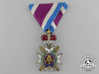 A Serbian Order of the Cross of Takovo, 5th Class (1865-1868)