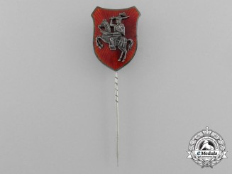 "A Lithuanian First War Patriotic ""Warsaw"" Regimental Stickpin 1916"