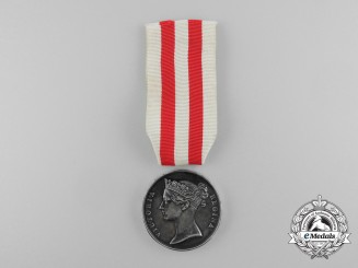 An Indian Mutiny Medal 1857-1858 to Private James McQuattie; Killed at Lucknow