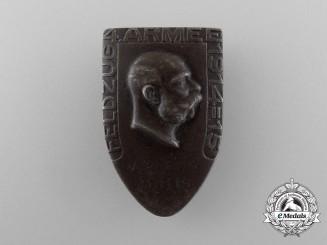 An Austrian 4th Army Campaign 1914-1915 Cap Badge