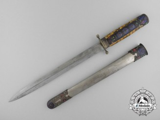 A Chinese Republic Naval Officer's Dagger 1927-1948