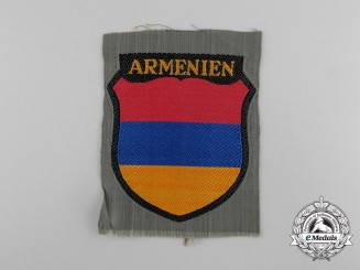 A Mint Waffen-SS Armenian Legion Volunteer Sleeve Shield
