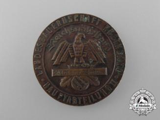 """A 1936 """"Blut und Boden"""" Landesbauernschaft Provincial Horse Exhibition Commemorative Coin"""