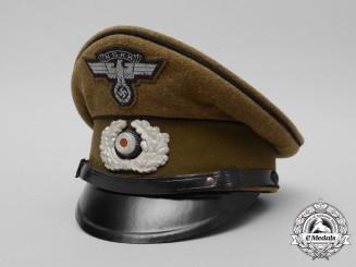 A 1943 Dated National Socialist Motor Corps Visor Cap