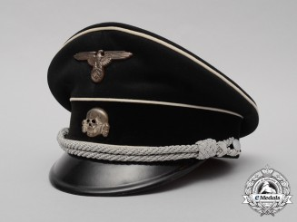 The Allgemeine SS Visor Cap of SS-Standartenfuhrer Dr. Rudolf Jacobsen