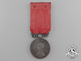 A Thai Rama V Royal Household Merit Medal 2nd Class, c. 1900