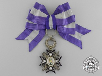 A Spanish Royal Order of the Noble Ladies of Queen Maria Luisa