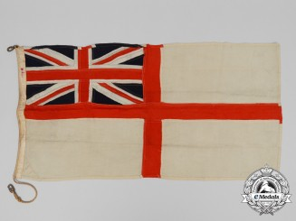 A Second War Royal Canadian Navy Ensign