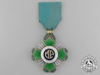 Cuba, Republic. An Order of Police Merit, Knight's Cross