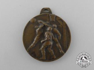 An Italian Fascist Youth FGC (Fascio Giovanili di Combattimento) Sport Medal