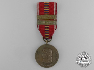 A Romanian Crusade Against Communism Medal; NISTRU & CAUCAZ