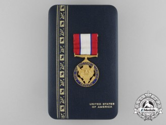 An American Army Distinguished Service Medal with Case