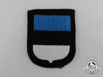 A Mint Estonian SS-Volunteer Shield Patch
