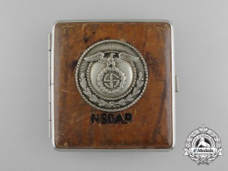 An Early Third Reich Period SA-NSDAP Cigarette Case