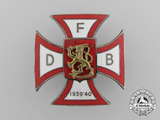 A Scarce Winter War Danish Volunteer's Cross; II Type by Heimbürger of Copenhagen