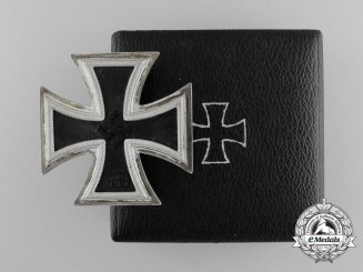 A Mint Iron Cross 1939 First Class by Friedrich Orth in Original Case of Issue