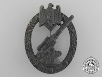 A Wehrmacht Heer (Army) Flak Badge by C.E Juncker