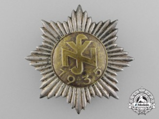A 1935 National Socialist People's Welfare Membership Badge