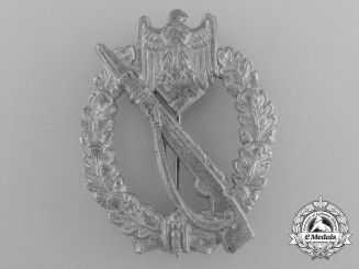 An Early Silver Grade Infantry Badge by Hymmen & Co.