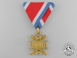 A Serbian Order of the Cross of Takovo; Knight 5th Class,