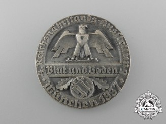 A 1937 Blood and Soil Reichsnährstand Exhibition Milk Production Award